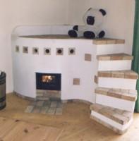 Brunner Kombi-Ofen mit Liegefläche